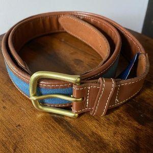 Men's Vineyard Vines leather belt